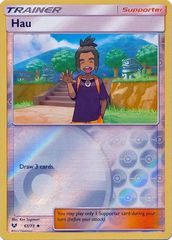 Hau - 61/73 - Uncommon - Reverse Holo on Channel Fireball