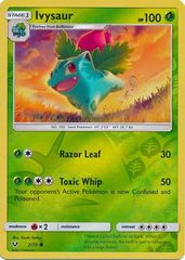 Ivysaur - 2/73 - Common - Reverse Holo on Channel Fireball