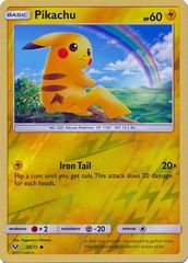 Pikachu - 28/73 - Common - Reverse Holo