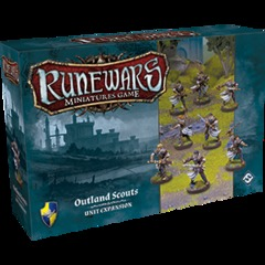 Runewars Miniatures Game: Outland Scouts Unit Expansion