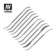 Vallejo Tools - Budget Riffler File Set (10) - VALTO3003