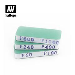 Vallejo Tools - FlexiSander Dual Grit x3 (80x30x12mm)  - VALT04004