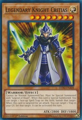 Legendary Knight Critias - LEDD-ENA08 - Common - 1st Edition