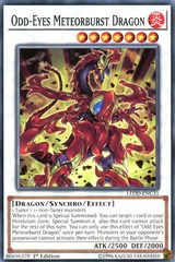 Odd-Eyes Meteorburst Dragon - LEDD-ENC31 - Common - 1st Edition