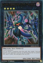 Dark Rebellion Xyz Dragon - LEDD-ENC32 - Ultra Rare - 1st Edition