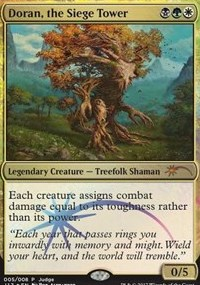 Doran, the Siege Tower (Judge Foil)