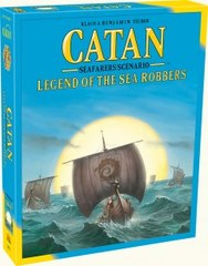 Catan: Legend of the Sea Robbers - Seafarers Scenario