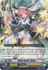 Battle Sister, Sable - G-BT12/027EN - R on Channel Fireball