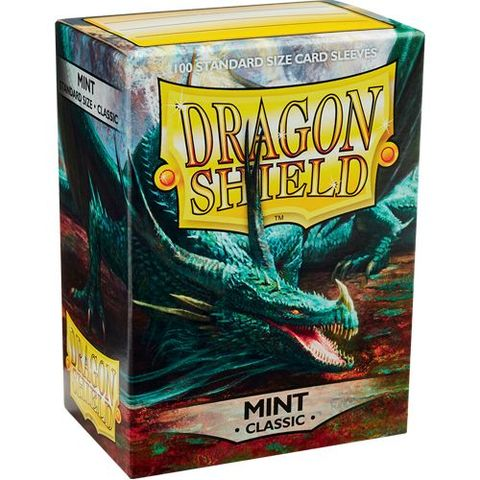 Dragon Shield Sleeves: Classic Mint (Box Of 100)