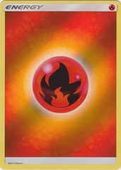 Fire Energy - Reverse Holo