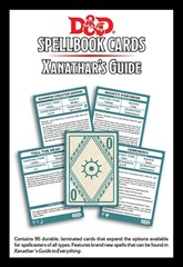 Dungeons And Dragons: Spellbook Cards - Xanathar's Guide to Everything