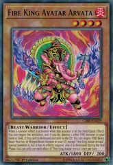 Fire King Avatar Arvata - CIBR-EN029 - Rare - 1st Edition