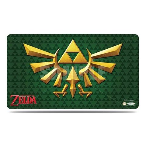 Ultra Pro - The Legend Of Zelda: Playmat - Green Crest