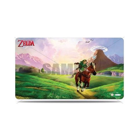 Ultra Pro - The Legend Of Zelda: Playmat - Link And Epona