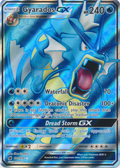 Gyarados GX - 101/111 - Full Art