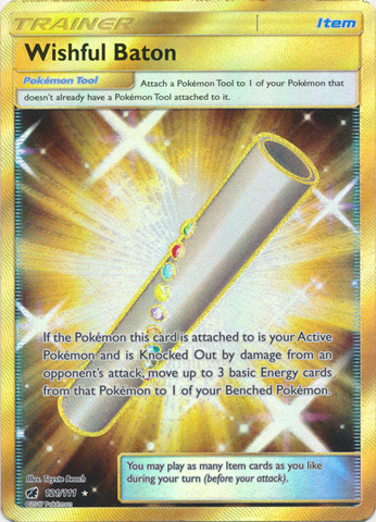 Wishful Baton - 121/111 - Secret Rare