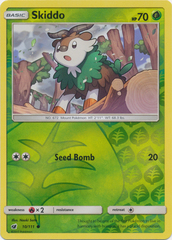 Skiddo - 10/111 - Common - Reverse Holo