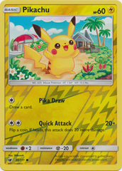 Pikachu - 30/111 - Common - Reverse Holo