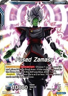 the Cunning Dragonball Super TCG Fused Zamasu