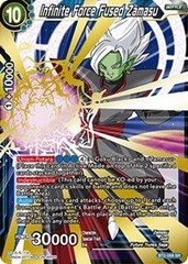 Infinite Force Fused Zamasu - BT2-058 - SR
