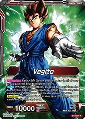 Vegito // Fusion Warrior Super Saiyan Vegito - BT2-001 - R