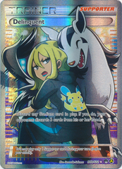 Delinquent (Alt Art) - 98b/122 - Premium Trainer's XY Collection