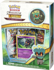 Pokemon Shining Legends Marshadow Pin Box