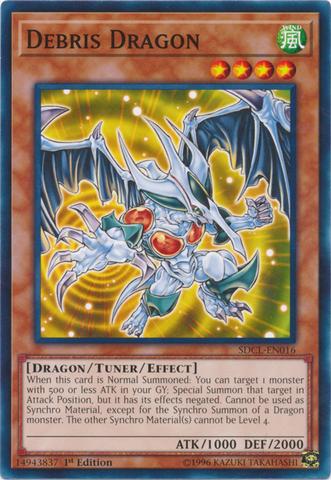 Debris Dragon - SDCL-EN016 - Common - 1st Edition