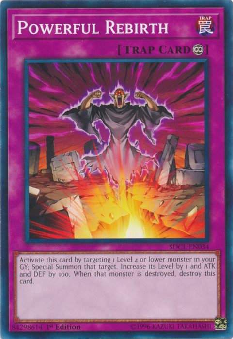Powerful Rebirth - SDCL-EN034 - Common - 1st Edition