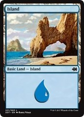 Island (31) on Channel Fireball