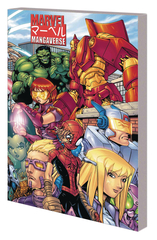 Marvel Mangaverse Complete Collection Trade Paperback