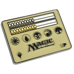 Ultra Pro Magic The Gathering: Abacus Life Counter Card Size - White