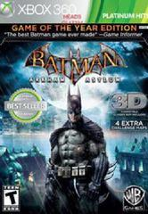 Batman: Arkham Asylum [Game of the Year]