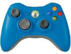 Blue Xbox 360 Wireless Controller
