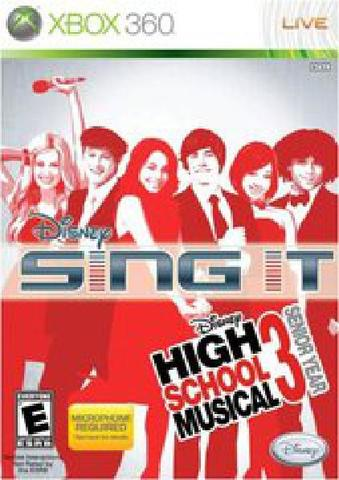 Disney Sing It High School Musical 3