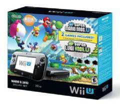 Wii U Console Deluxe: Mario & Luigi Edition
