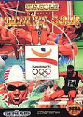 Olympic Gold Barcelona 92 - Video Games » Sega » Sega