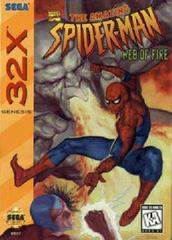 Spiderman Web of Fire