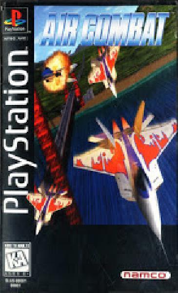 Air Combat [Long Box] - Video Games » Sony » Playstation