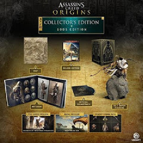 Assassin's Creed: Origins Collector's Edition - Video Games