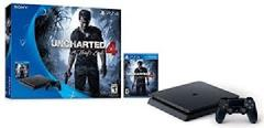 Playstation 4 500GB Slim Console Uncharted 4 Bundle