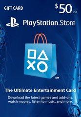 50 Dollar PSN Card