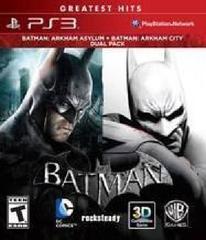 Batman: Arkham Asylum and Batman: Arkham City Dual Pack