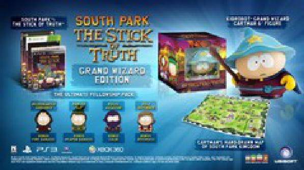 South Park: The Stick of Truth Grand Wizard Edition - Video Games