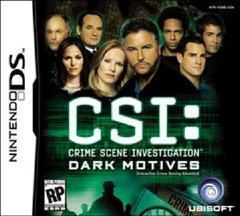 CSI Dark Motives