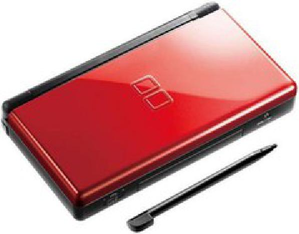 Nintendo DS Lite - Crimson & Black