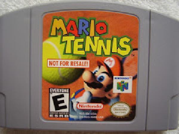n64 mario tennis