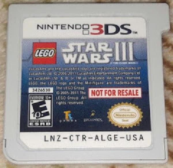 LEGO Star Wars III: The Clone Wars [Not for Resale]