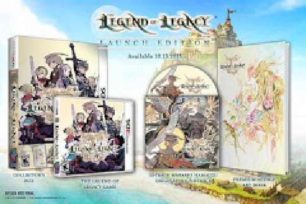Legend of Legacy Launch Edition