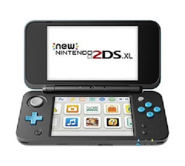 New Nintendo 2DS XL - Black & Turquoise